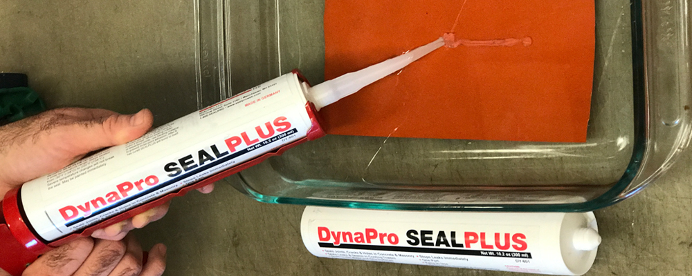 DynaPro Sealplus: Stop leaks immediately! Seals under water!